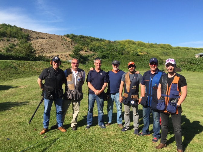 16 juin 2016 : The Clay Shooting Classic @ High Lodge (video)