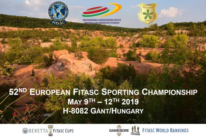May 9th, 2019: European FITASC Championship – Live scores